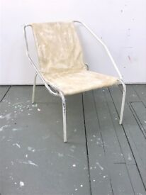 One off polycarbonate ARMCHAIR