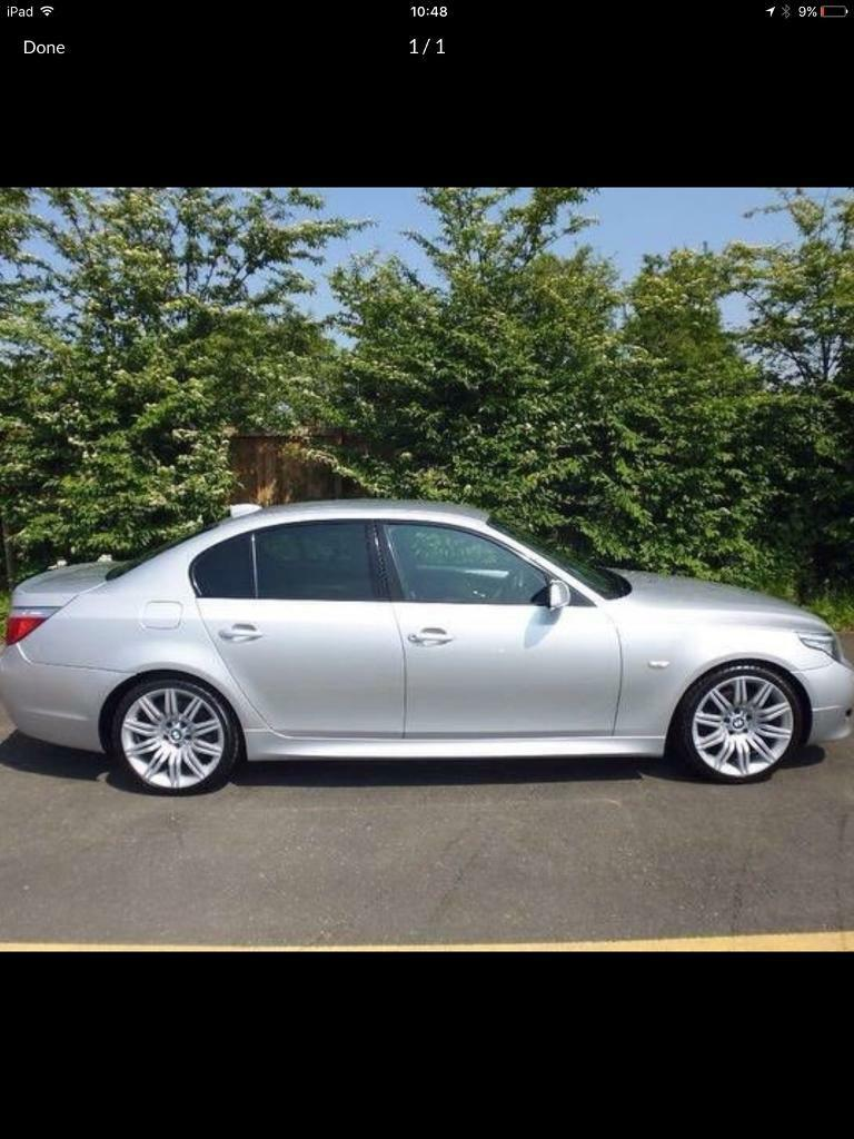 2008 BMW 520 e60 parts breaking