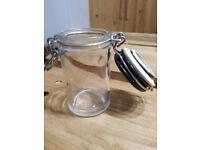8 Small Jars - New