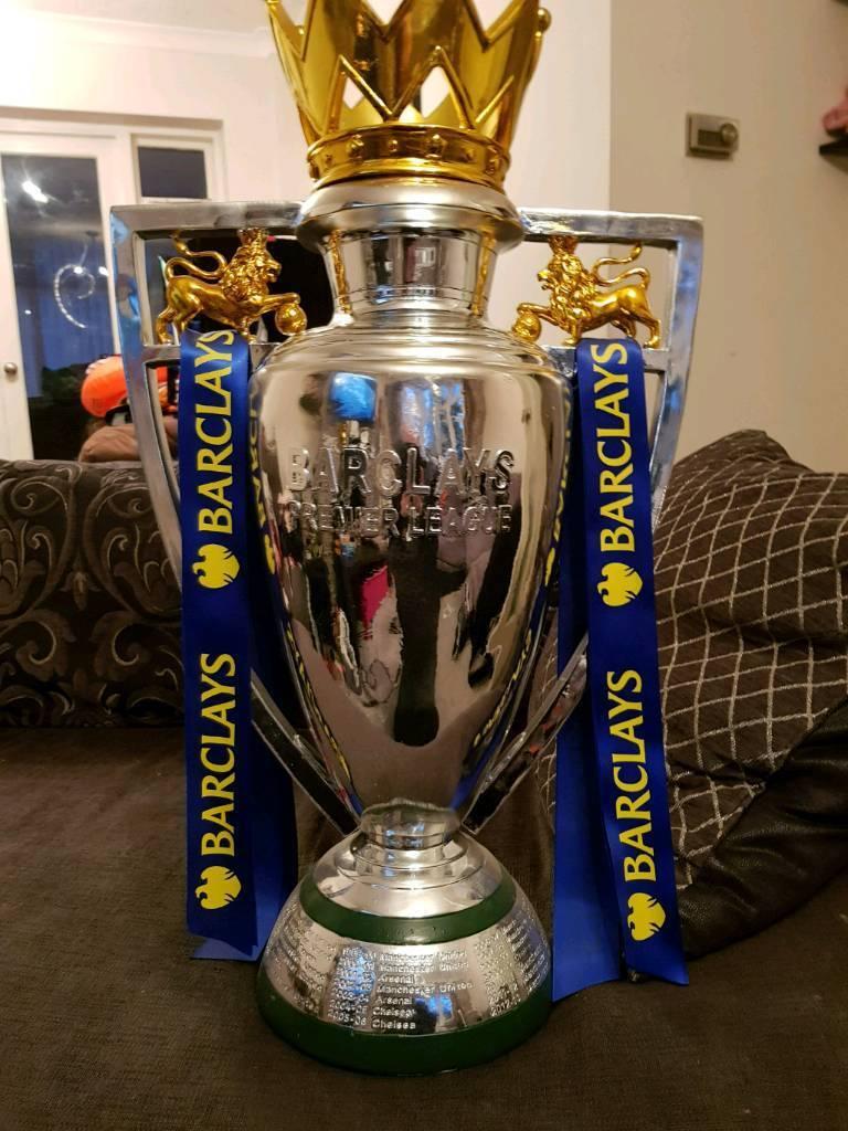 Full size premier league trophy replica | in Shard End ...