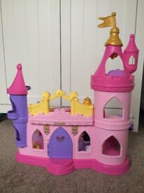 Fisher-Price Toy Disney Princess Little People Musical Castle