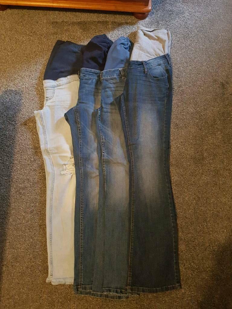 Maternity jeans/shorts bundle