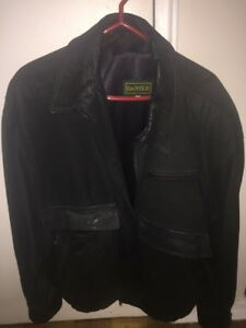 Selling a black leather Danier jacket