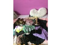 Wholesale bundle ladies 50 mixed items included tops skirts bra