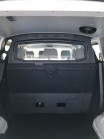 VW Transporter T5 T5.1 6 Seater Kombi Plastic Bulkhead with Glazing and Carpeting, Genuine VW