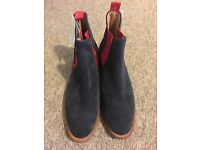 M&S best of British suede Chelsea boots, size 7