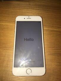 I phone 6 , Rose Gold