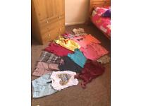 Girls summer bundle aged 7-8