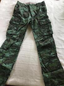 GAP combat trousers. Age 13