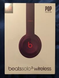 Brand New Unboxed/Unopened Beats by Dre Solo 3 Wireless - Beats Pop Collection – Pop Magenta