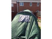 Six man tent in great condition only selling as it's too big for us