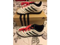 (Kids) Adidas Goletto V Astro football boots (size c12 /eur30.5 in good condition