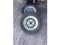 2 x mk1/2 Capri Wheels