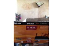 D - link router new in box