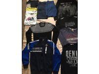 Big bundle of boy clothes age 14