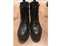 Zara TRF Boots brand new
