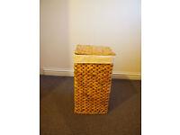 Storage Basket With Canvas Liner