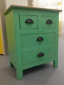 French shabby chic Bedside Cabinet lamp table chest drawers Laura Ashley John Lewis habitat loaf oka