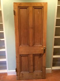 Original Victorian door, excellent condition, lots of character