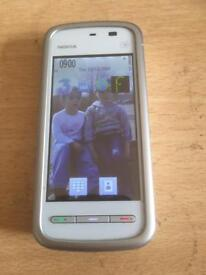 NOKIA 5220 MOBILE PHONE ON 3 NETWORK