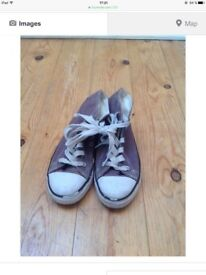 Grey Sneakers Size 1
