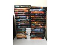 Star Wars hardback books novels