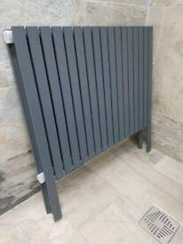 Anthracite grey radiator