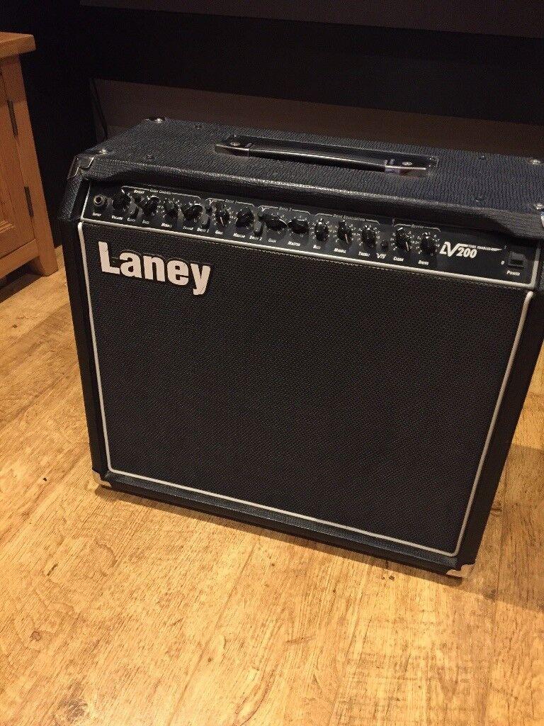 Laney LV200 guitar amp tube enabled