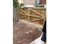 LOW COST Fencing and gates made,and repaired.Bespoke sheds and Arbours made