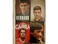 Liverpool legend's autobiographies
