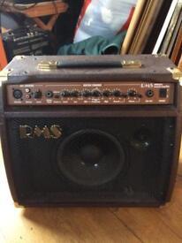 RMS Acoustic guitar amplifier