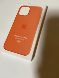 iPhone 12 silicone case brand new