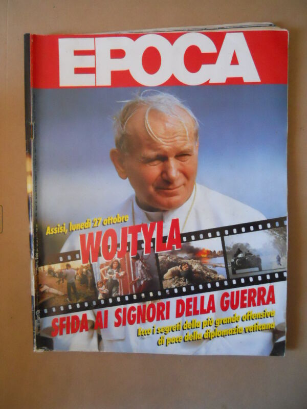 EPOCA n°1882 1986 Papa Giovanni Paolo II Reinhold Messner Jo Ferguson [VL5]