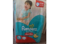 Nappies Pampers baby-dry Pants,size 5,12-18kg