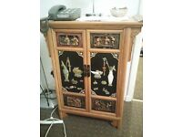 Chinese ornament cabinet