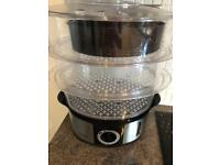 Next 3 Tier Stainless Steel Electric Steamer