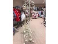 Shabby chic clothes rail