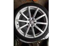 🎁Audi RS4 B8 19inch alloys wheels (Vw audi seat skoda)