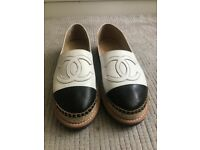 Chanel Espadrilles with thick sole (used like new)