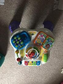 Kids activity cube and play thing