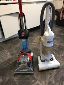 Zanussi pet Hoover and dirt devil carpet cleaner