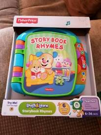Fisher Price book