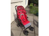 Maclaren Techno XT buggy with accessories