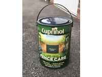 Cuprinol Fence Paint Woodland Green