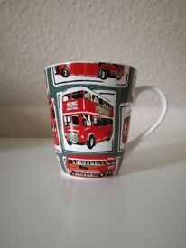 Cath Kidston red double decker bus mug
