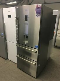 BEKO Select CFMD7852X Fridge Freezer - Stainless Steel