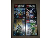 Star Wars DVD's x 4