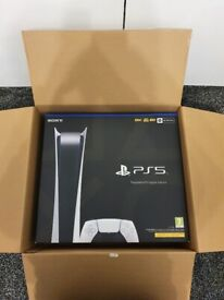 PS5 Digital Edition Console BRAND NEW IN BOX & SEALED - WARRANTY Inc