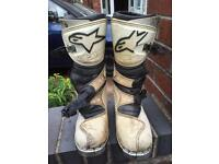 Kids motor cross boots