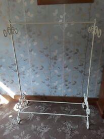 Decorative hanging rails